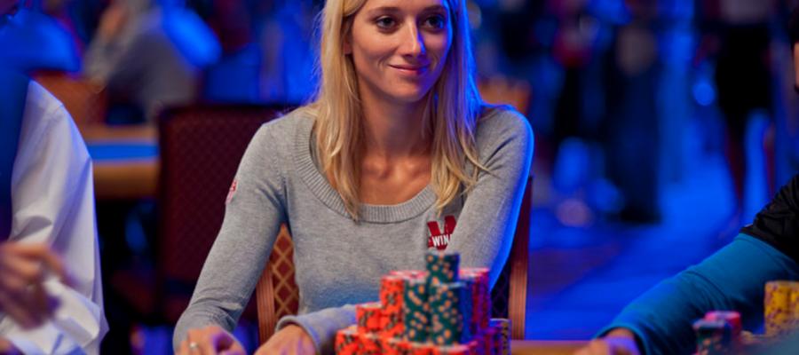 Le poker en Amérique,
